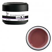 Konstrukční gel PRO 3.1 camouflage pink - 15g