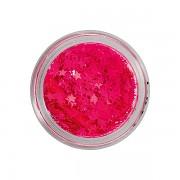 Flitry na nehty l neon pink stars