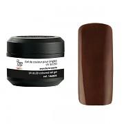 Barevné nehtové UV-gely crunchy brownie 5g