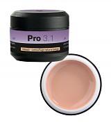 Konstrukční gel PRO 3.1 camouflage natural beige - 15g