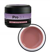 Konstrukční gel PRO 3.1 camouflage natural pink - 15g