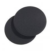 Houbička na make-up x 2ks Latex-černá