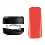Barevné UV gely pro aplikaci na nehty - kaki delight - 5g