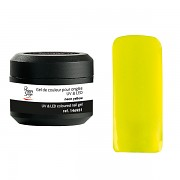 Barevný UV gel Neon fashion - neon yellow - 5g