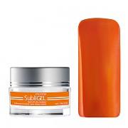 Barevné UV gely Subligel - Pop orange - 7ml