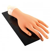 Cvičná ruka + podstavec + 10 chráničů nehtů