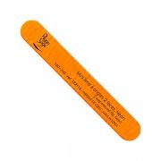Malý pilník na nehty oboustranný neon orange 180/240