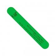 Malý pilník na nehty oboustranný neon green 180/240