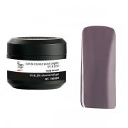 Barevný nehtový UV gel nutty brown 5g