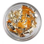 Metalizované nehtové fólie - or