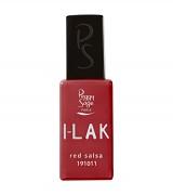 I-LAK barevný lak do UV lampy gel polish-11ml - red salsa