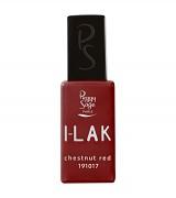 I-LAK barevný lak do UV lampy gel polish-11ml - chestnut red