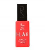 I-LAK barevný lak do UV lampy gel polish-11ml - orange sanguine