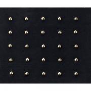 Kamínky pro zdobení nehtů - metallic studs - 25ks