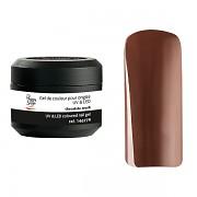 Barevné nehtové UV gely - chocolate crush - 5g