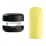 Barevné nehtové UV gely - sunny mimosa - 5g