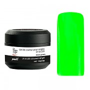 Barevný UV gel 146948 5 g - Neon green