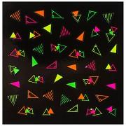 Dekorativní neonové obtisky na nehty - 149907