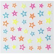 Dekorativní svítící obtisky na nehty 149210 - hvězdy